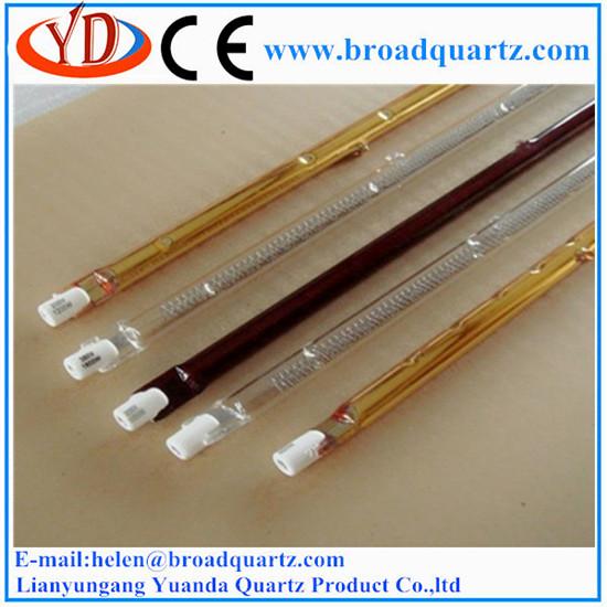 Quartz halogen infrared heater lamp IR heat for industrial 500W-3000W